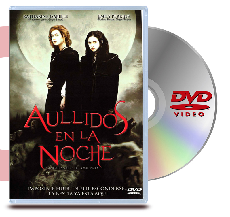 DVD Aullidos en la Noche