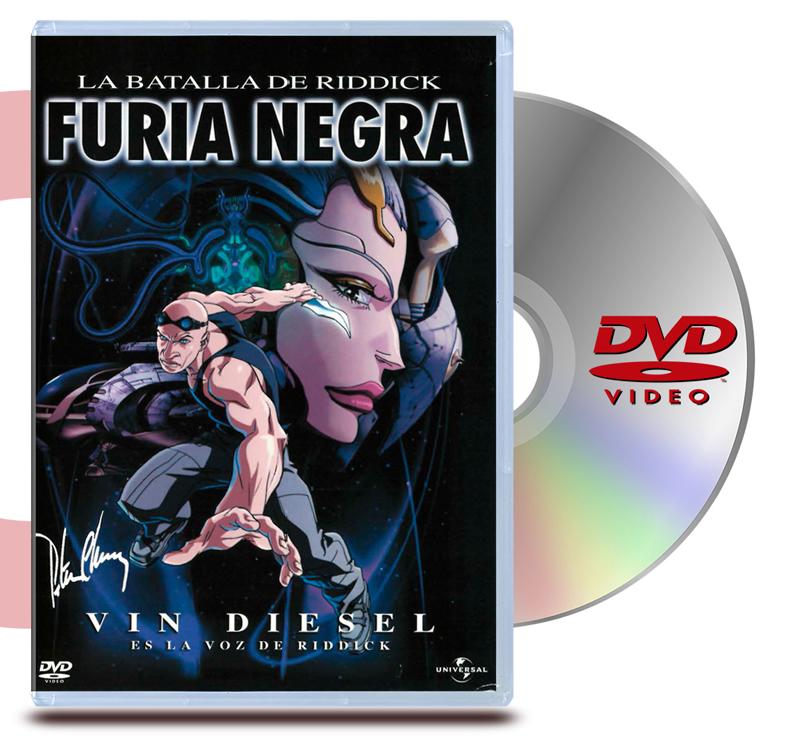 DVD La Batalla Riddick : Furia Negra