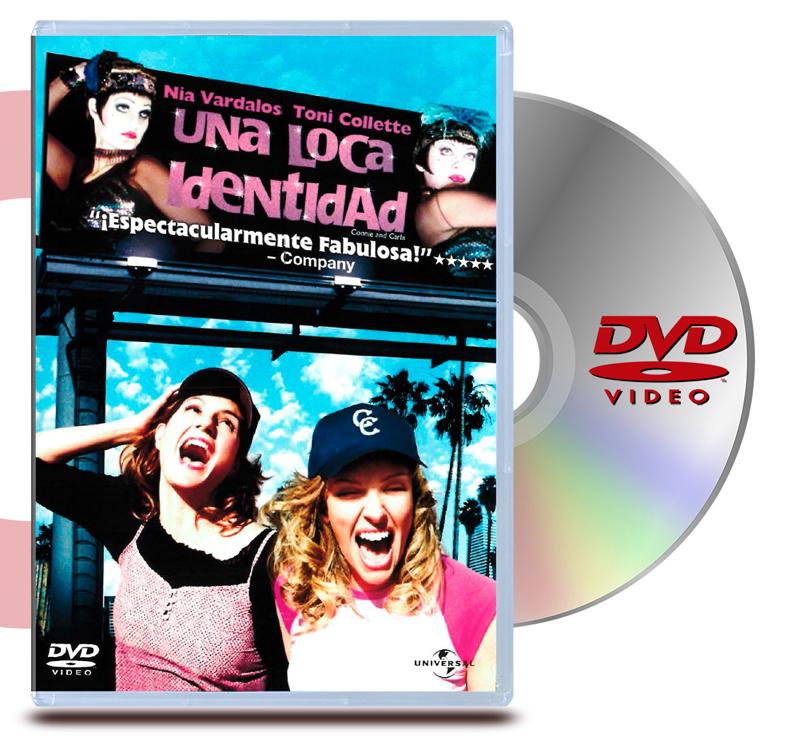 DVD Una Loca Identidad: Connie & Carla