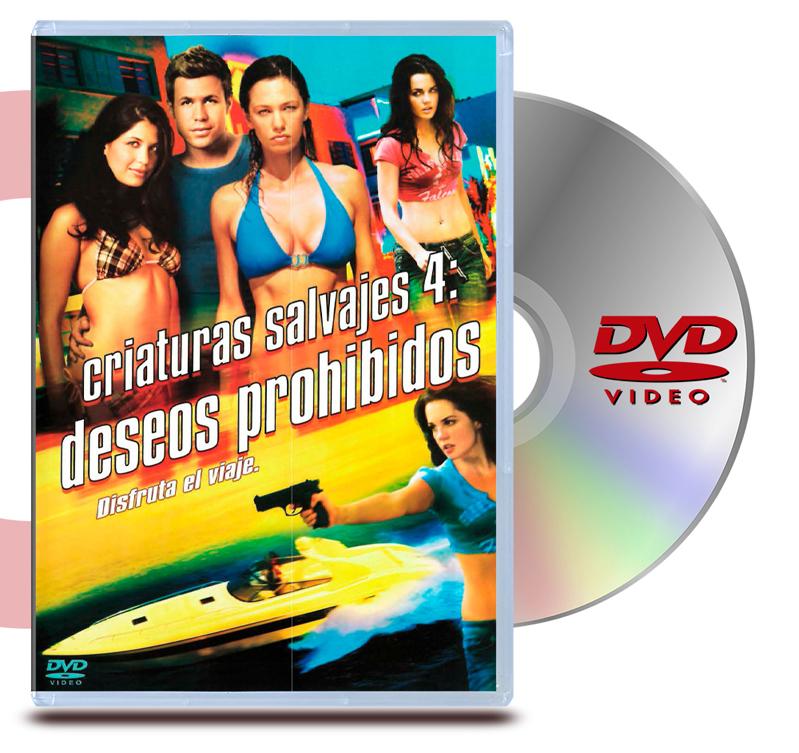 DVD Criaturas Salvajes 4 : Deseos Prohibidos