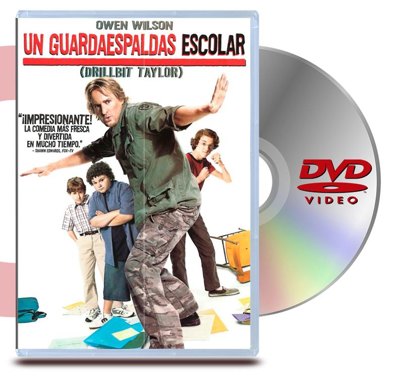 DVD Un Guardaespaldas Escolar (Drillbit Taylor)
