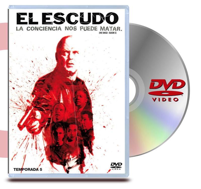 DVD El Escudo : Temp 5