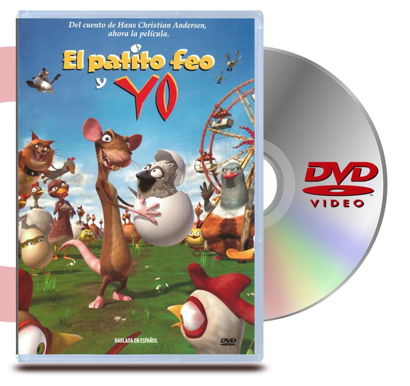 DVD El Patito Feo y Yo