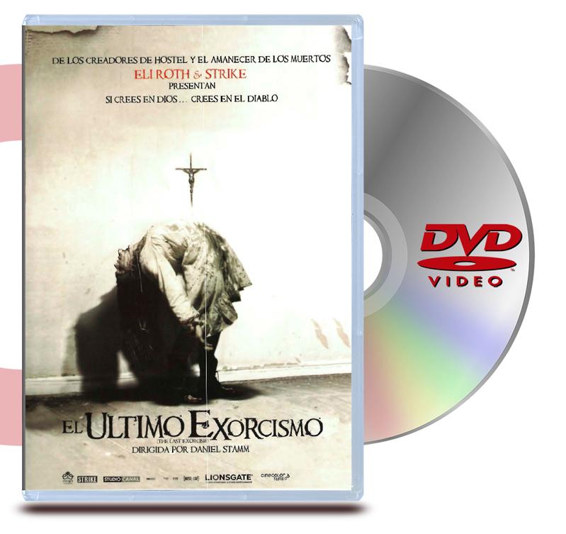 DVD El Ultimo Exorcismo parte 1