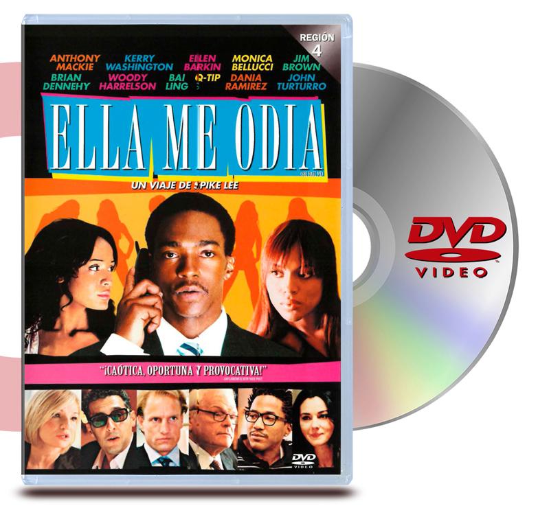 DVD Ella No Me Odia