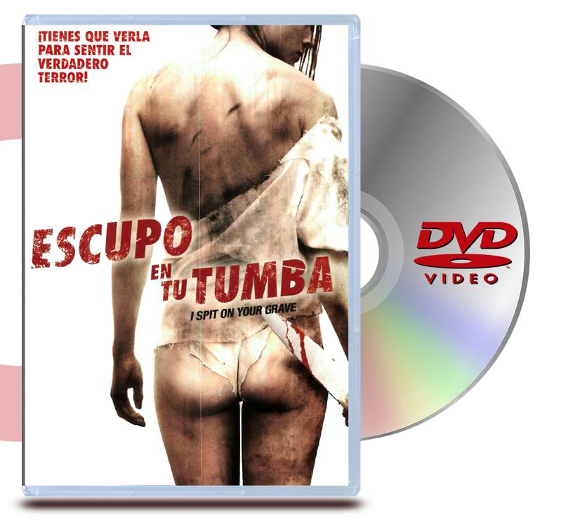 DVD Escupo En Tu Tumba