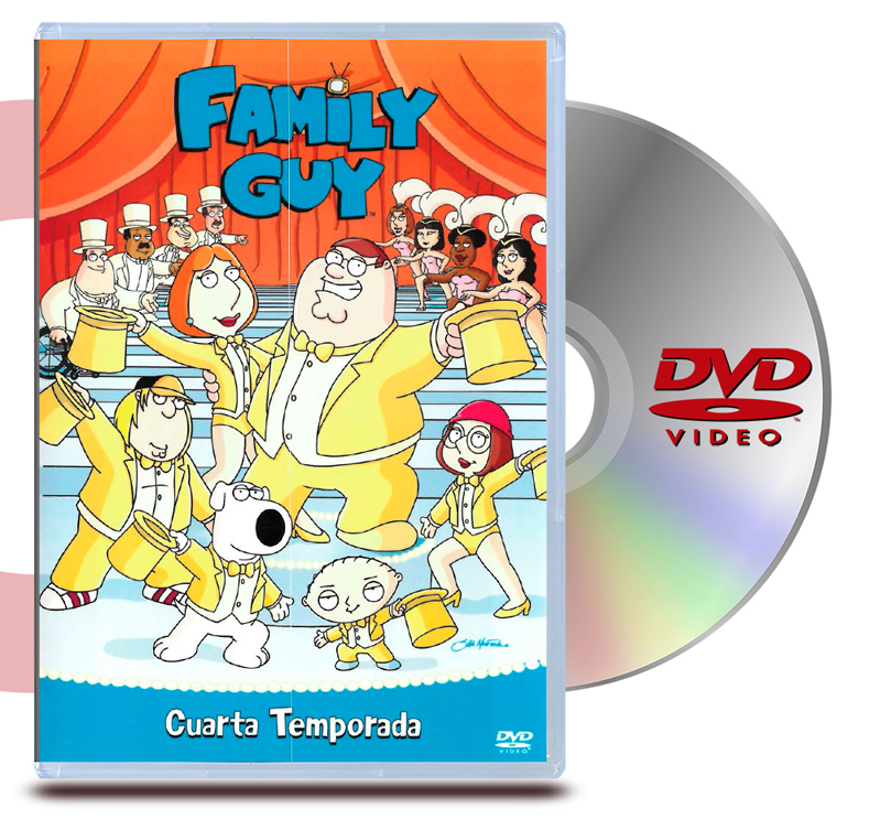 DVD Family Guy Temporada 4