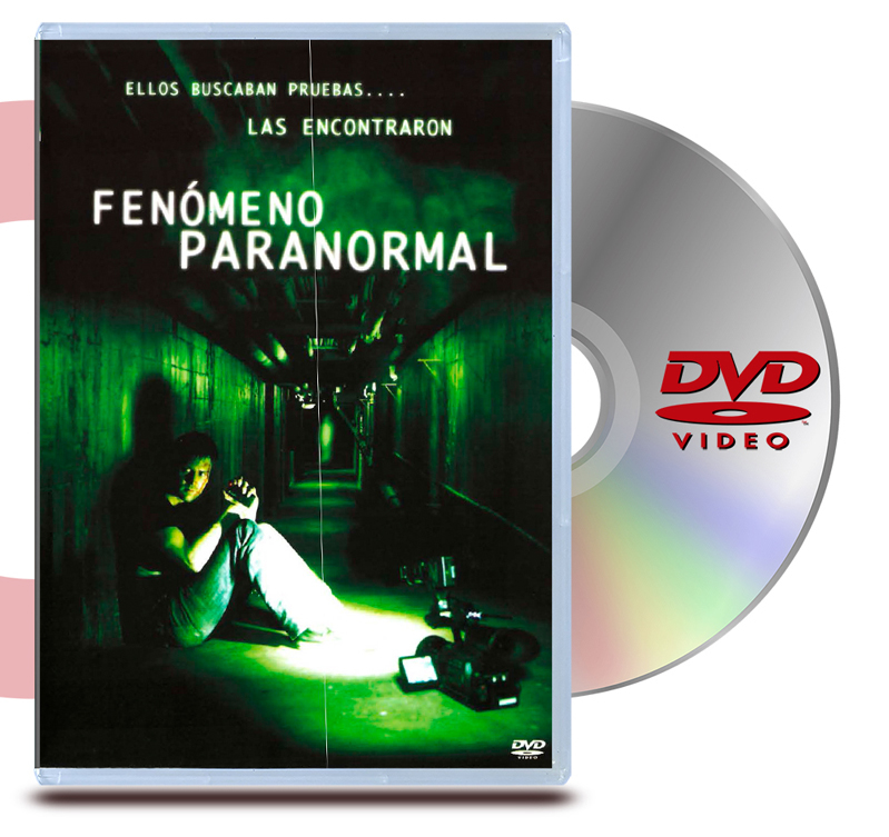 DVD Fenomeno Paranormal