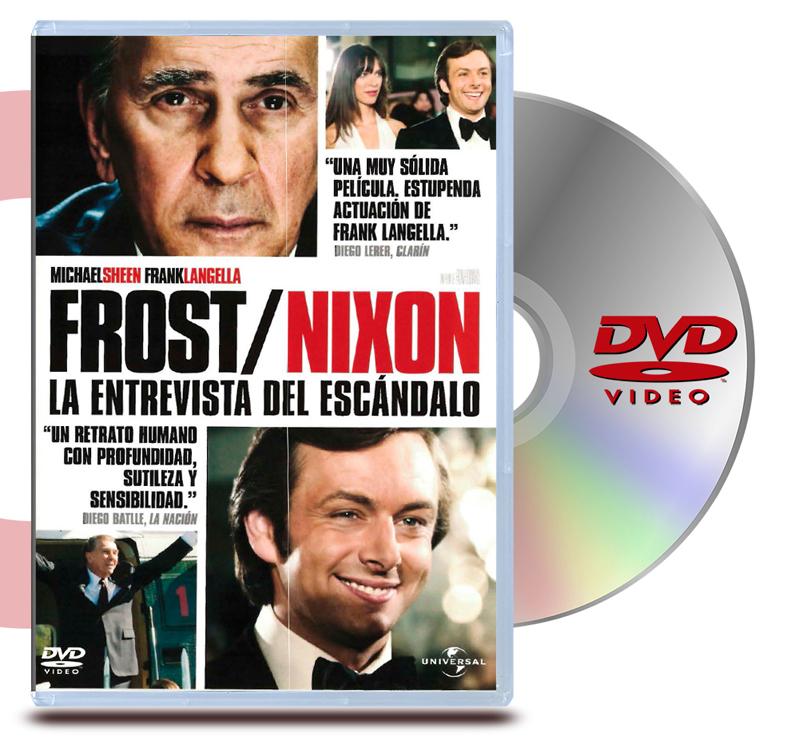 DVD Frost/Nixon: La Entrevista Del Escandalo