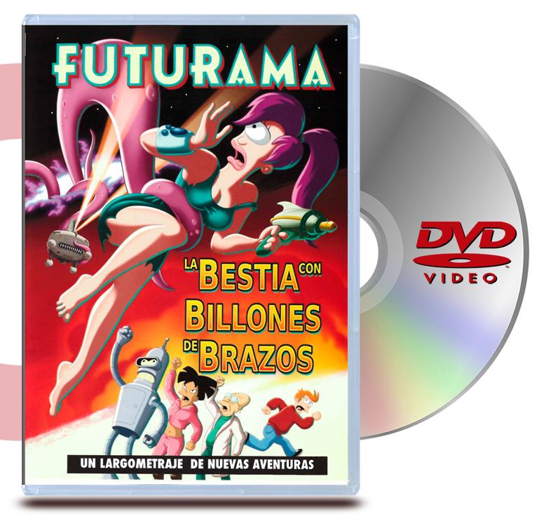 DVD Futurama La bestia con billones de brazos