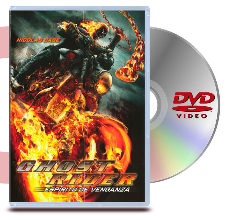 DVD Ghost Rider: Espiritu de Venganza