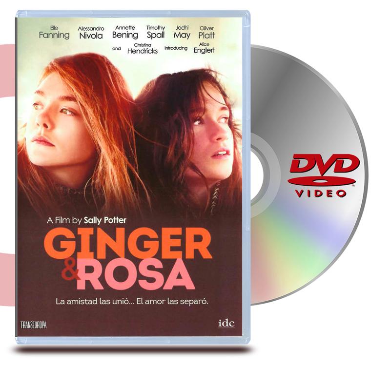 DVD Ginger & Rosa