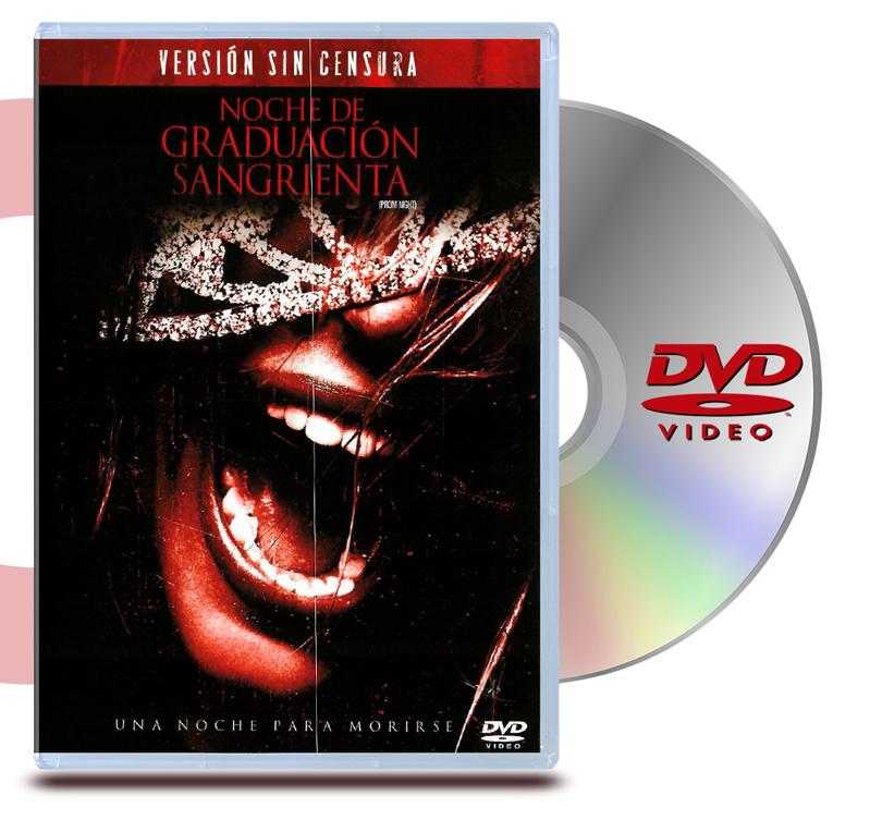 DVD Noche de Graduación Sangrienta