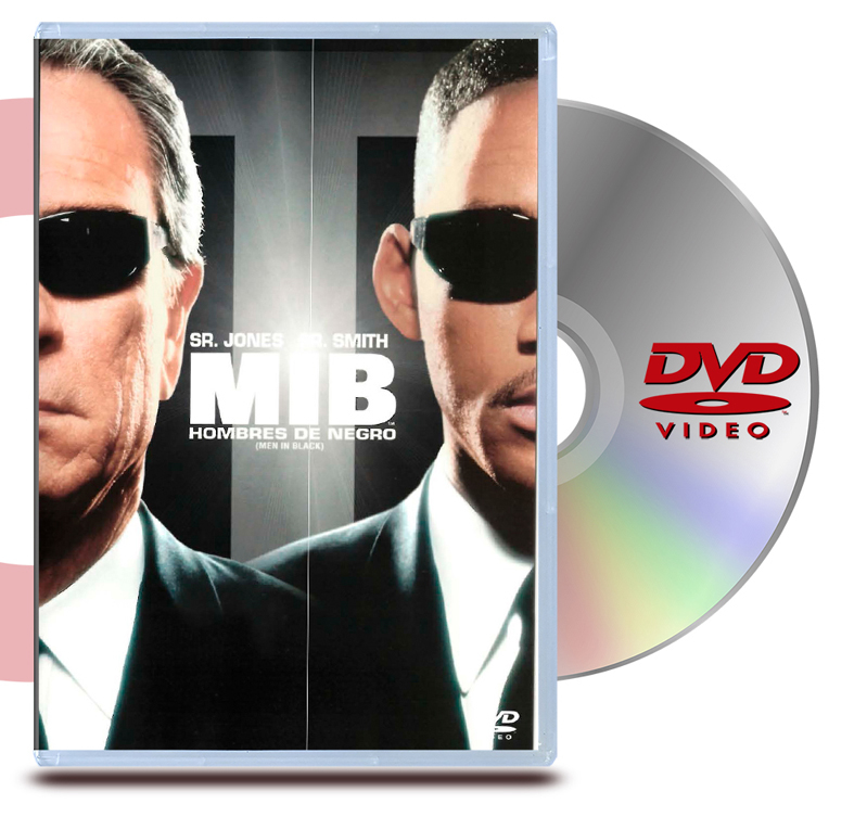 DVD Hombres De Negro