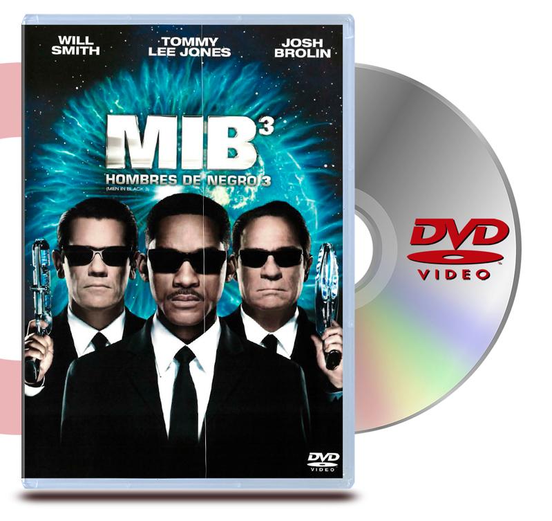 DVD Hombres De Negro 3