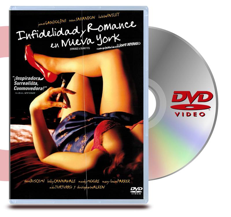 DVD Infedelidad y Romance en Nueva York Romance & Cigarretes