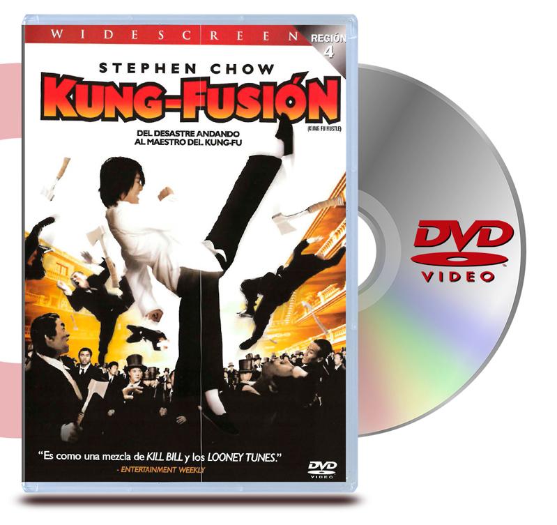 DVD Kung Fusión