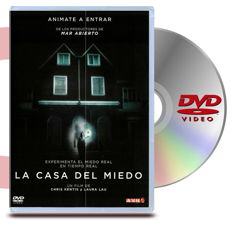 DVD La Casa del Miedo