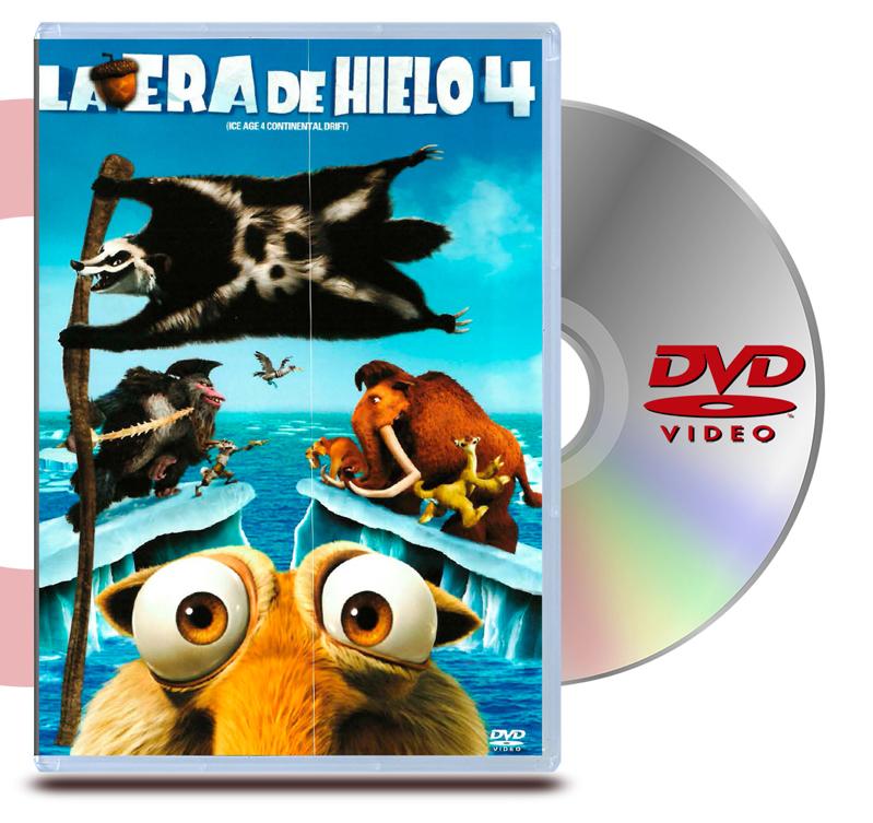 DVD La Era Del Hielo 4 + DVD Interactivo de regalo