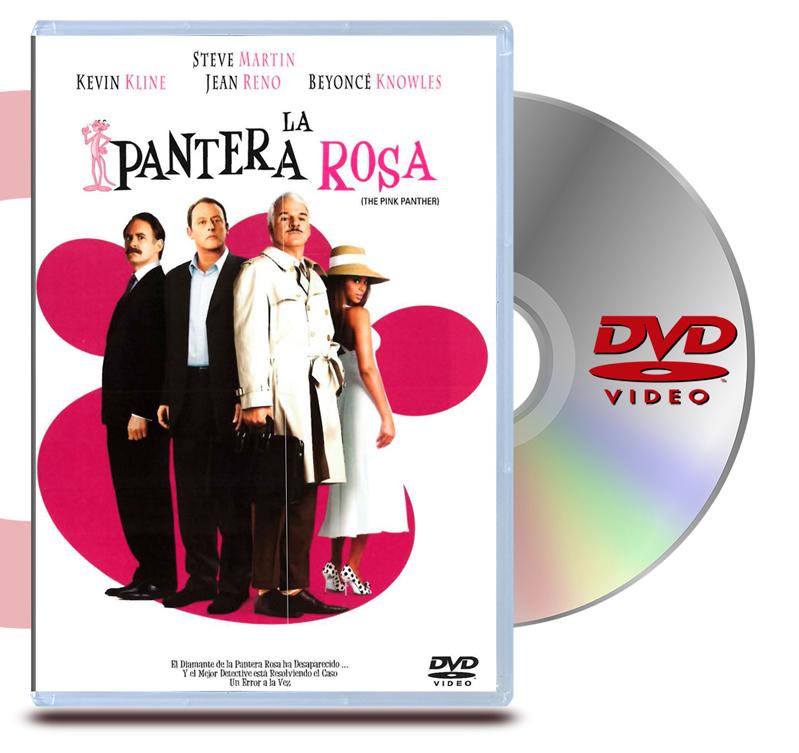 DVD La Pantera Rosa