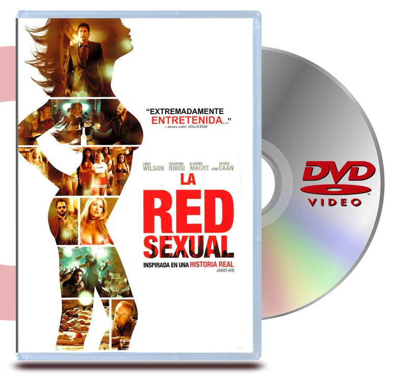 DVD La Red Sexual