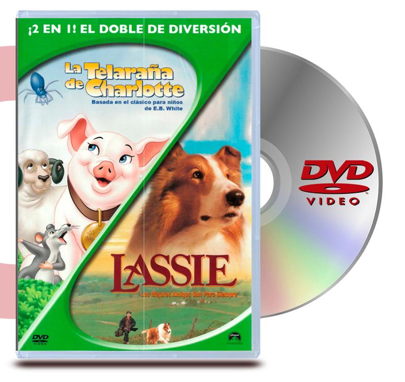 DVD La Telaraña de Charlotte / Lassie