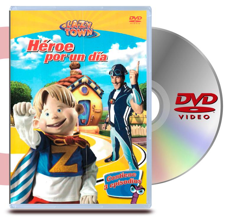 DVD Lazy Town: Heroes por un Dia
