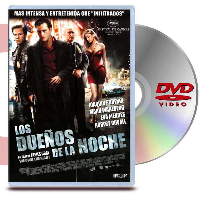 DVD Los Dueños De La Noche