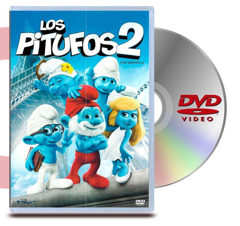 DVD Los Pitufos 2