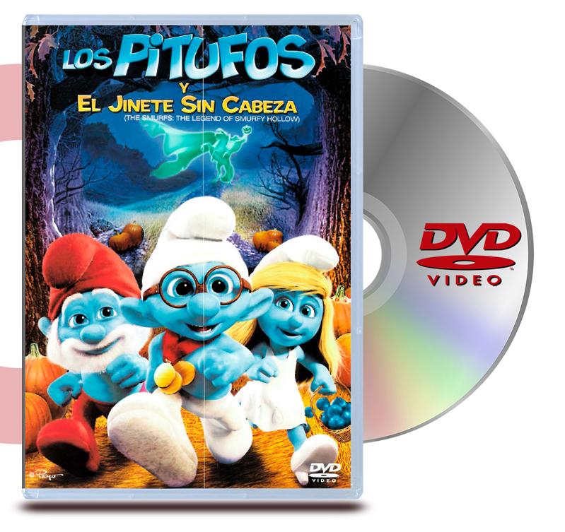 DVD Los Pitufos y el Jinete Sin Cabeza