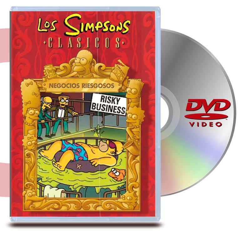 DVD Los Simpsons Clásicos - Negocios riesgo