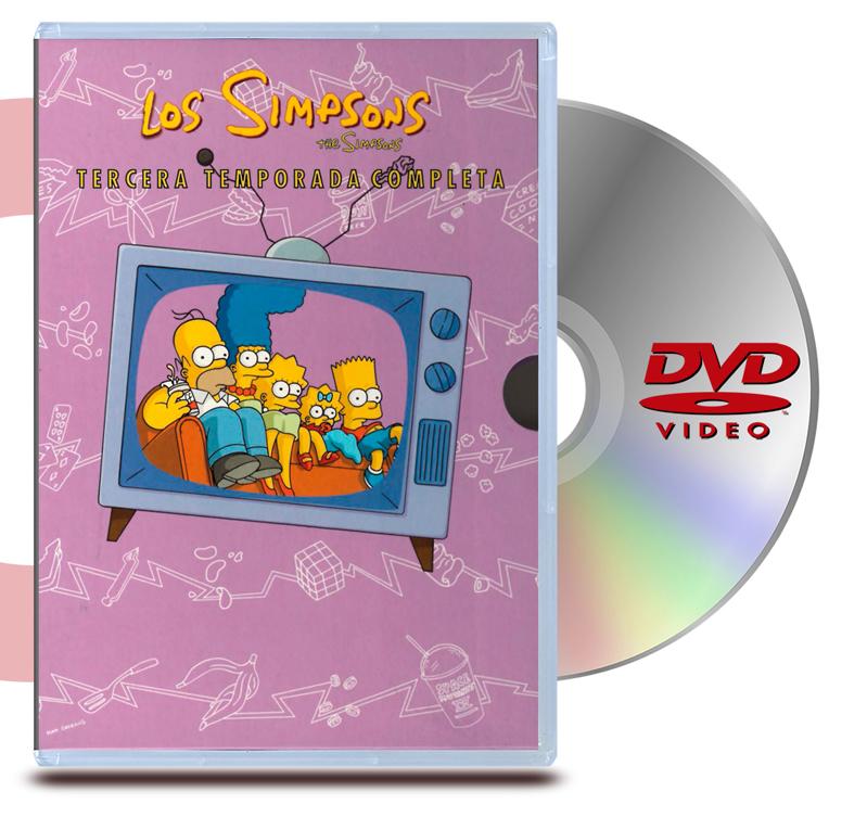 DVD Los simpsons  Temporada 3