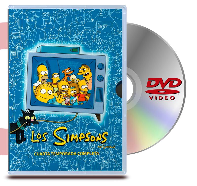 DVD Los simpsons  Temporada 4