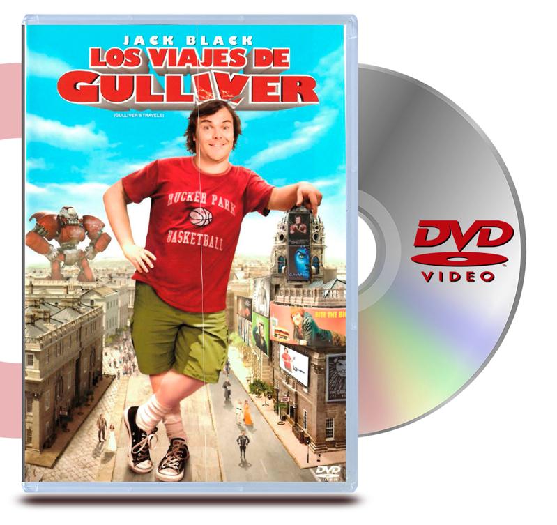 DVD Los Viajes de Gulliver