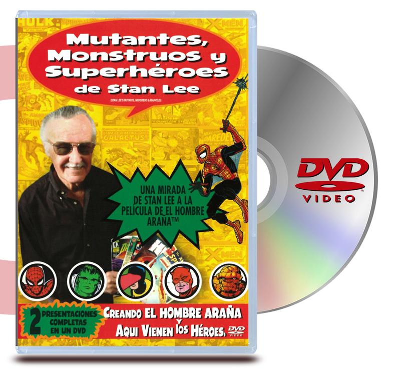 DVD Mutantes, Monstruos y Superheroes
