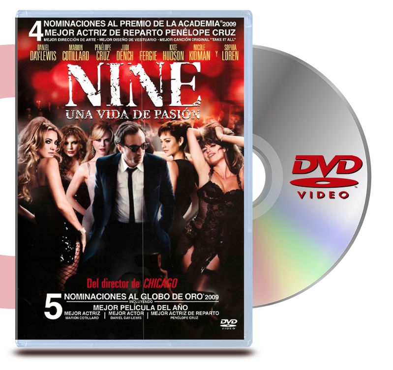DVD Nine: Una Vida De Pasion