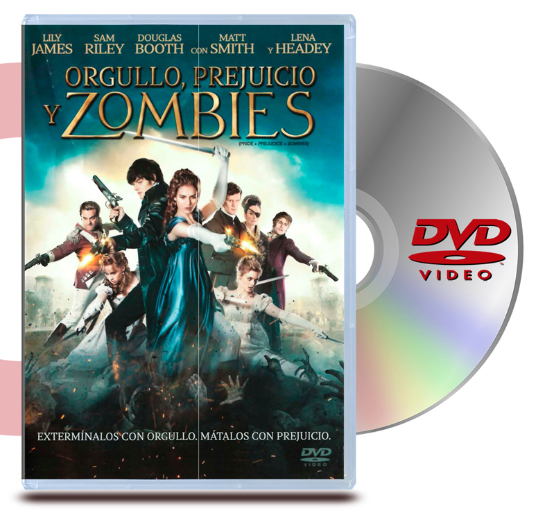 DVD Orgullo, Prejucio y Zombis