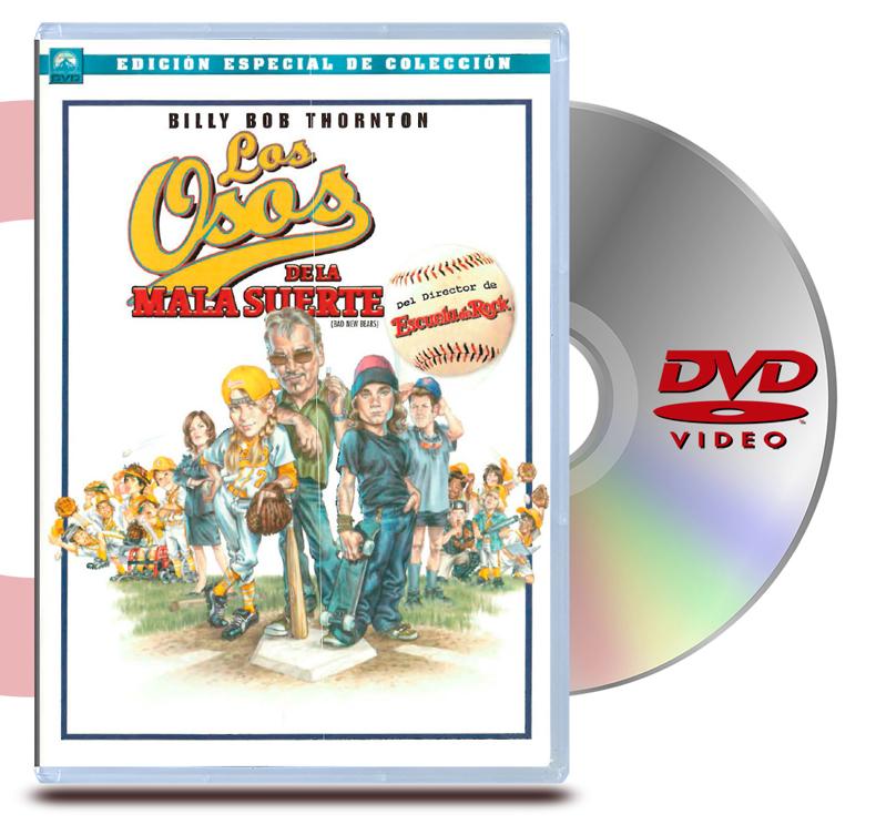 DVD Osos de la Mala Suerte