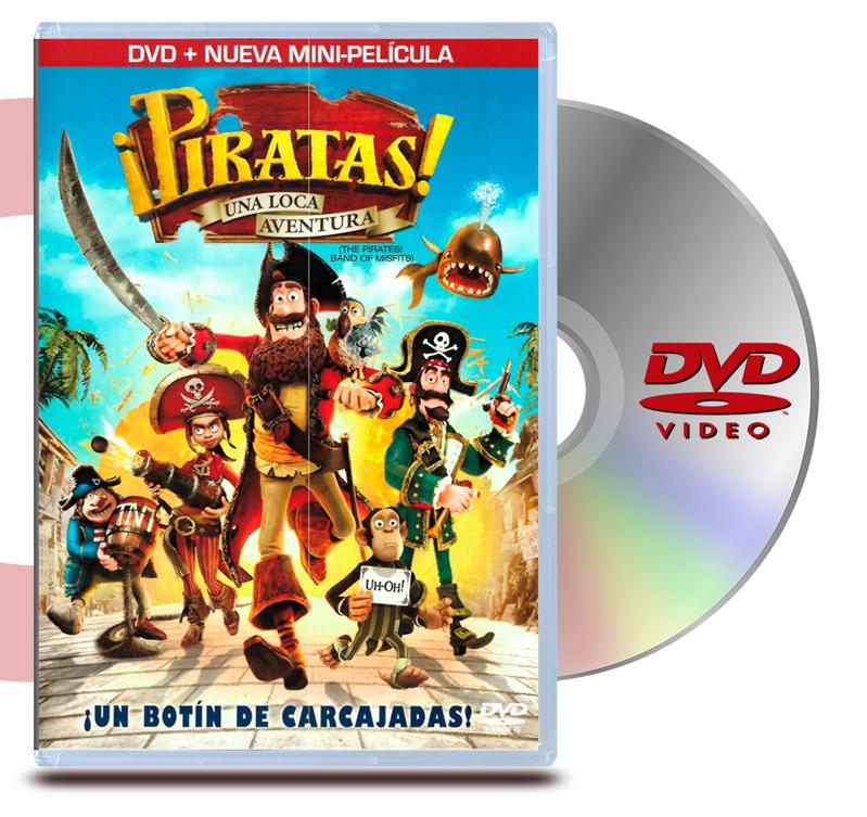 DVD Piratas Una Loca Aventura (2Discos)