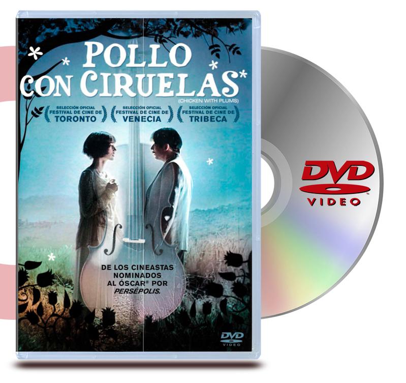 DVD Pollo Con Ciruelas