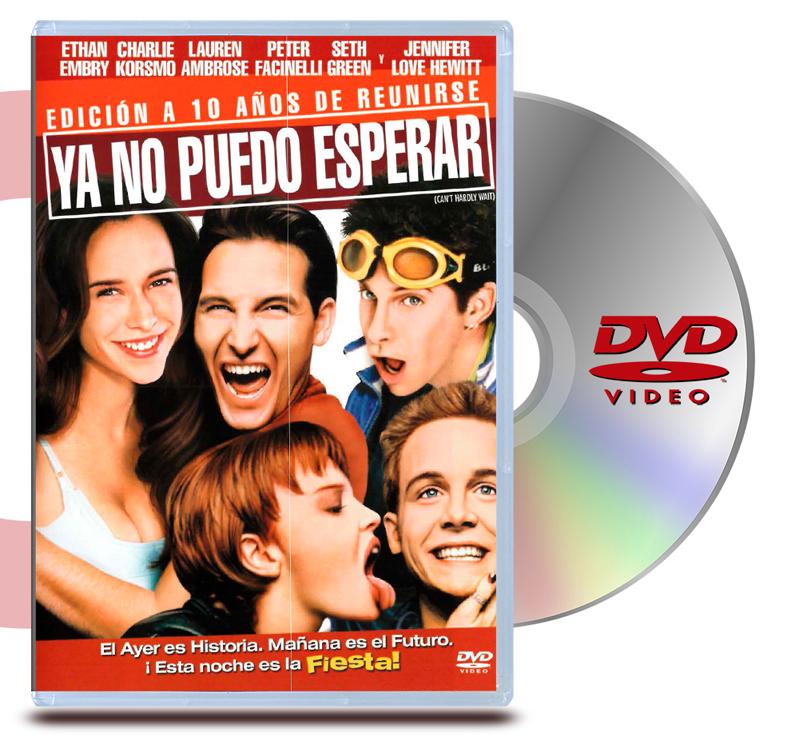 DVD Ya no puedo esperar