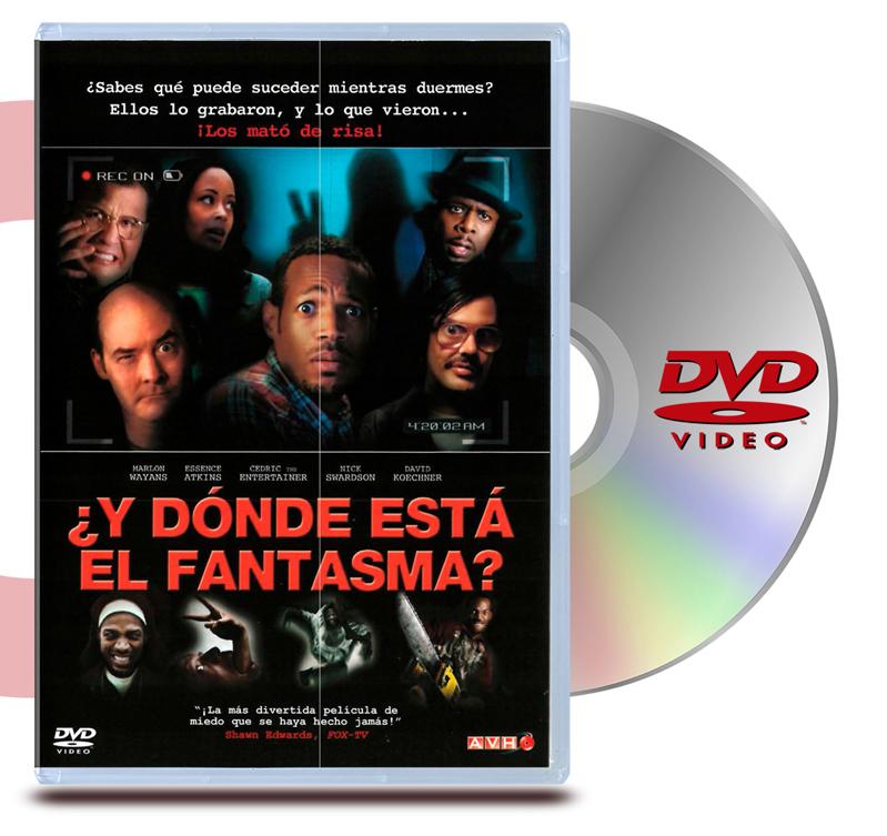 DVD Y Donde esta el Fantasma