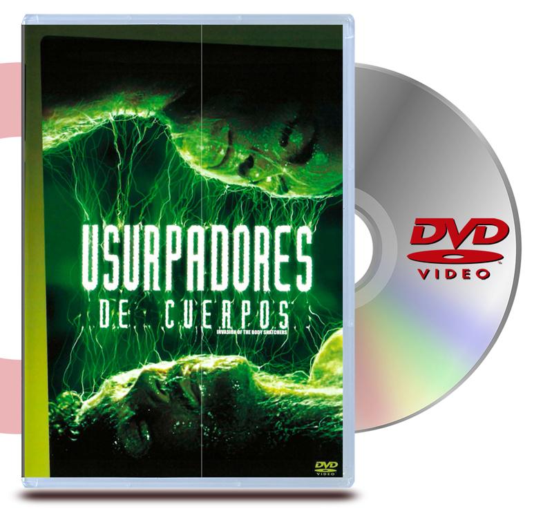 DVD Usurpadores de Cuerpo