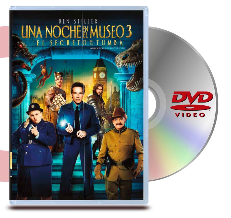 DVD Una Noche En El Museo 3