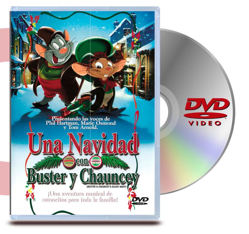 DVD Una Navidad con Buster y Chauncey