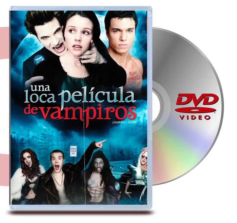 DVD Una Loca Pelicula De Vampiros