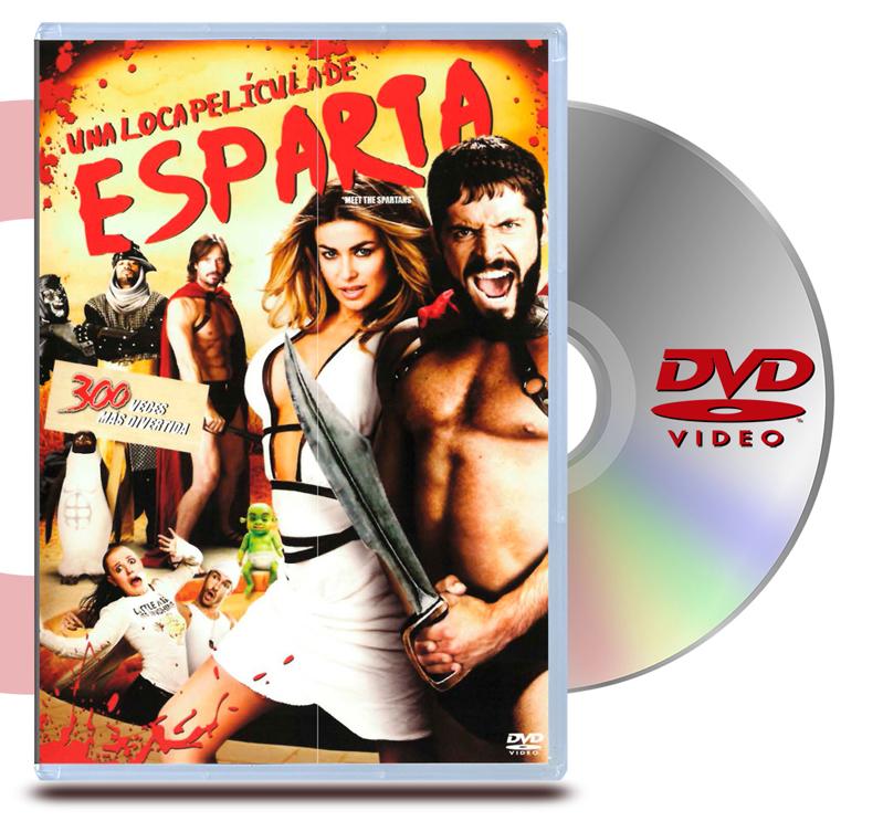 DVD Una Loca Pelicula De Esparta