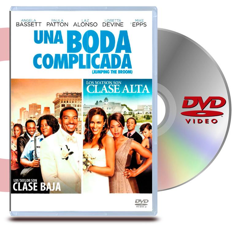 DVD Una Boda Complicada
