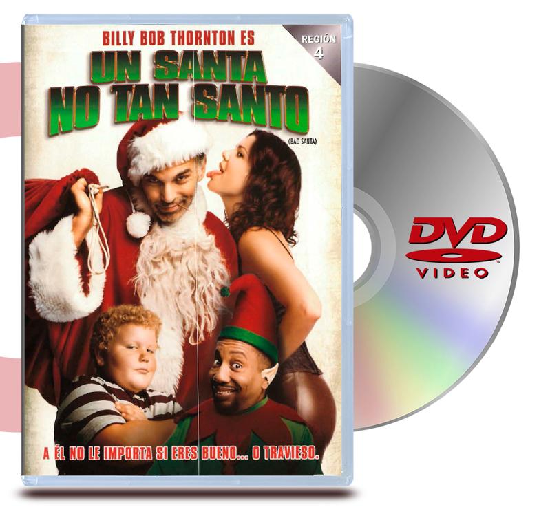DVD Un Santa No Tan Santa