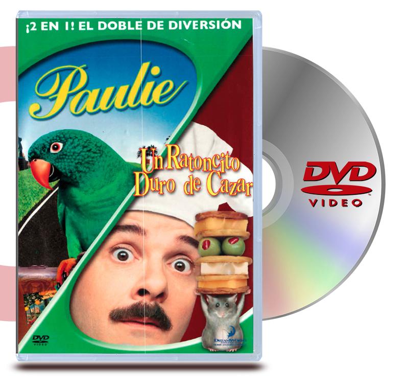 DVD Un Ratoncito Duro De Cazar / Paulie